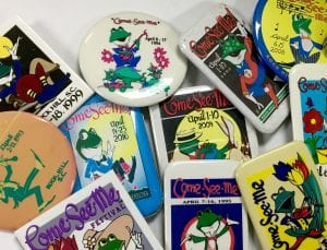 Come-See-Me Button Swap @ Louise Pettus Archives & Special Collections, Winthrop University | Rock Hill | South Carolina | United States